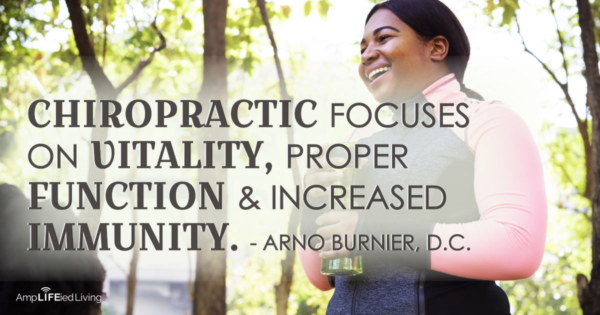 Chiropractic Wellness for vitality and prevention