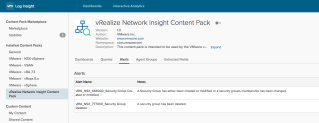 Integrating vRealize Network Insight and Log…