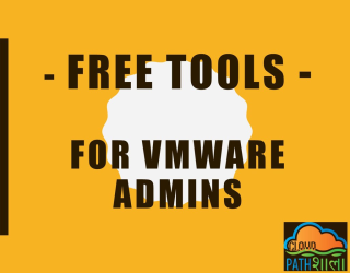 Free Tools for VMware Admins