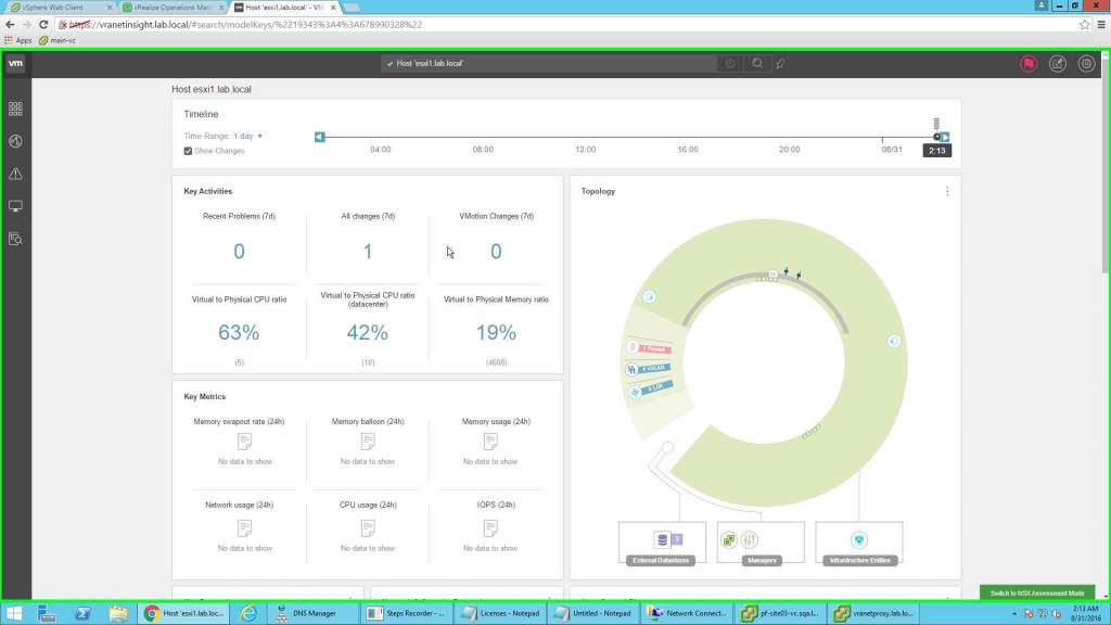 Vmware Vrealize Network Insight Hands On Lab Vmwaremicrosoft