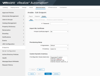 vRealize Automation and Ansible