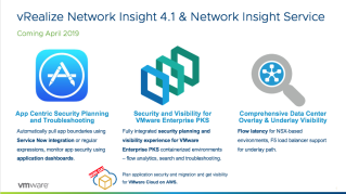 VMware vRealize Network Insight 4.1 Powers…