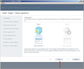 Installing VMware vCenter Server Appliance 6 5…   vAddicted