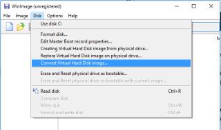 Install Windows Nano Server on VMware ESXi
