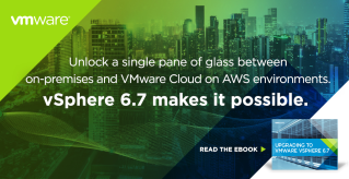 It's time! Upgrade to VMware vSphere 6.7