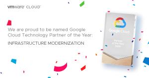 VMware wins Google Cloud Infrastructure…